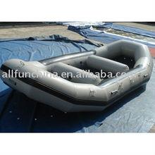 barco inflable, barco de goma, barco del PVC
