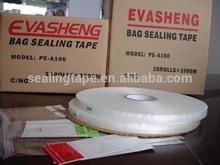 Venta caliente de impresión personalizada auto-adhesivo de cinta para el mercado de la india( pe- a1801)