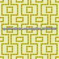 patrón de mosaico de azulejos de mosaico de oro