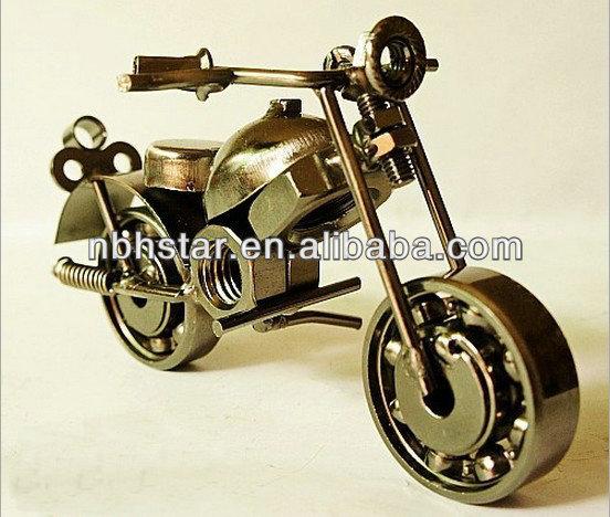 Arte del metal modelo de la motocicleta para la decoración del hogar( hsd- mc- m16c)