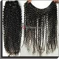 China ablibaba venta caliente remy brasileño que teje enrollamiento jerry del pelo