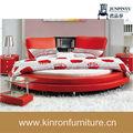 China csy-c7052 venta al por mayor moderno diseño baratos cama redonda
