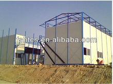 de dos pisos de mano de obra de construcción prefabricado kit