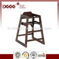 De madera maciza de alta silla bebe dg-w0024
