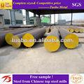 De recursos humanos de acero al carbono barra redonda q235b/q345b con alta calidad