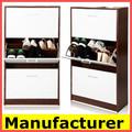 sapateira com espelho ,armário de sapatos,moderna armário de sapatos de madeira