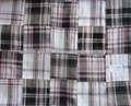 Patchwork tela algodón en la India