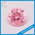 ronda rosa zirconia cúbico de piedras preciosas al por mayor de China