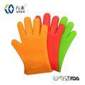 Guantes de silicona/eco- ambiente cocina guante de silicona