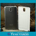 venta caliente de teléfono móvil de metal caso para el samsung note3