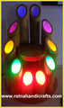 bambú luz de la lámpara de color de múltiples