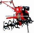 La mano agrícola tractor cultivador rotatorio de la agricultura de potencia del motor de vuelta azada/azadón agrícola