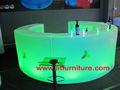 LED luminoso bar counter y muebles led