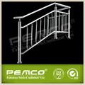 Barandillas de escaleras al aire libre de acero inoxidable 304 de hierro forjado