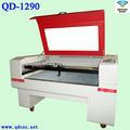 Cartas de acrílico de corte láser /cortadora láser de 130w QD-1290