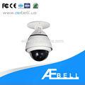 Mini ptz, 10x zoom óptico de pelco del cctv cámara domo de velocidad 540 tvl cámara ptz
