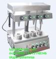 Cono que hace la máquina/pizza mini máquina cono/pizza de acero inoxidable de la máquina cono para la venta