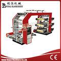 yt modelo de alta velocidad 6 color pe bolsa de rodadura de la máquina de impresión