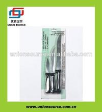 3 piezas de ensalada de cuchillo cocinero conjunto(083030)