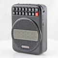 Negro de navidad usb de radio portátil amplificador profesor fábrica de shenzhen