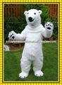 sm 155 2014 caliente nuevo blanco del oso polar disfraces para adultos