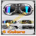 Nuevo casco de la motocicleta gafas de esquí ATV Motocross accesorios Youth Gafas plegables colores mezclados