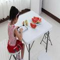 folding dining square table