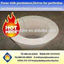 térmica de aislamiento refractario de silicato de calcio pipa de la cubierta