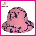 Fabricación y diseño de 100% australia de fieltro de lana sombrero de la campana con el patrón