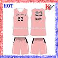 equipo personalizado desgaste de alta calidad de ventas al por mayor de baloncesto para mujer de diseño uniforme