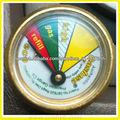 medidor de presión de gas propano