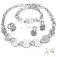 joyas de plata turco conjunto/aleación joyería conjunto