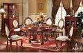 Venta caliente mesa y sillas de comedor antiguo