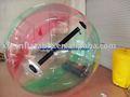 pvc inflable del agua caminando pelota