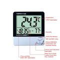 Gran pantalla LCD termómetro digital de ambiente con una humedad