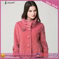 el último diseño de moda las mujeres ropa más del tamaño espesar doble cuello de lana de otoño e invierno capa de las mujeres