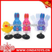 El baile de juguetes del conejo, mini juguete jumpping conejos juguetes
