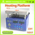 Precalentador de bga, 150*150mm 400w venta caliente smd placa de precalentamiento/tablero de calefacción