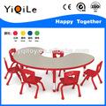 Amazing!!! Moonshape mesa e cadeira para o jardim de infância