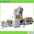 automático de papel de aluminio recipiente de comida que hace la máquina de fabricación de china