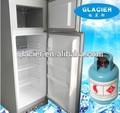 Xcd-240 electrodomésticos 220v110v 12v nevera de gas/refrigerador con el refrigerante r717