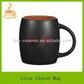 Esmaltado mate café taza de cerámica/de cerámica taza de café,/t t