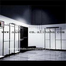 comercial tienda de ropa muebles clothig ropa bastidores de decoración de la tienda