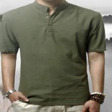 venta al por mayor 2014 nuevo diseño de los hombres camisas de lino