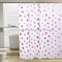 100% de lujo peva cortina de ducha