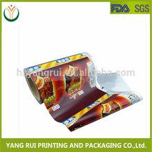 Fábrica de la venta!!! China fabricante de plástico personalizada impresa película mantillo
