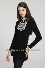 chino tradicional suéter de la señora