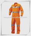 de algodón de color naranja fluorescente ropa de trabajo sobretodo