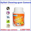 Más pequeño oculta grabadora de voz videocámara, la cámara de fotos, 1/6 pulgadascolor cmos de la cámara de vídeo pq133