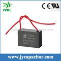 CBB61 3.5uF AC motor de capacitor, capacitor do ventilador elétrico, ac capacitor para ventilador